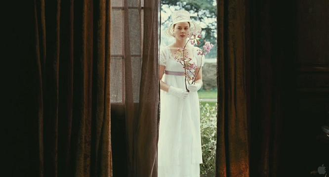 Fanny as nature's muse in Bright Star (2009) by Jane Campion